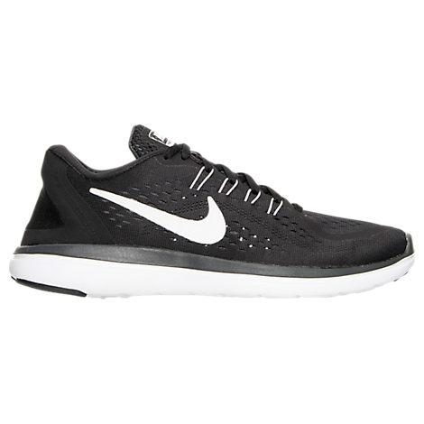 Nike Women S Flex 2017 Run Running Sneakers From Finish Line In Black 455061684