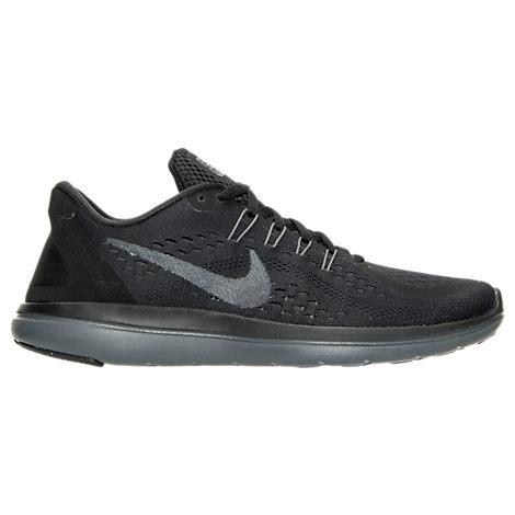 Nike Women S Flex 2017 Run Running Sneakers From Finish Line In Black Mtlc  Hematite  65762a07e