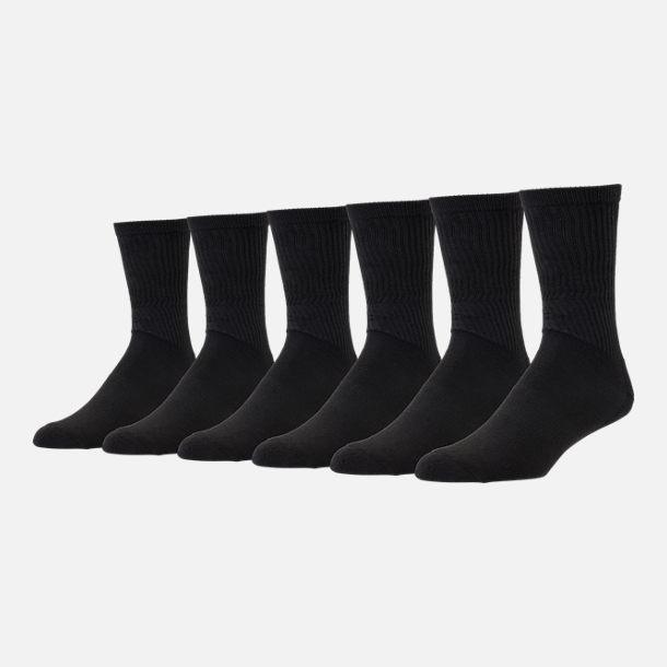 Men's Finish Line 6 Pack Crew Socks