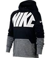 Boys' Nike Logo Therma Training Hoodie