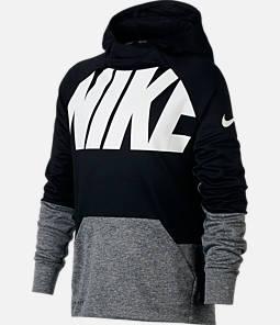 Boys' Nike Logo Therma Training Hoodie Product Image