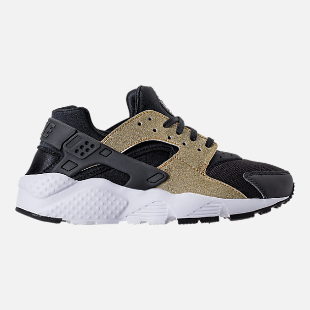 ba678960f4 ... discount right view of girls grade school nike air huarache run se running  shoes in black