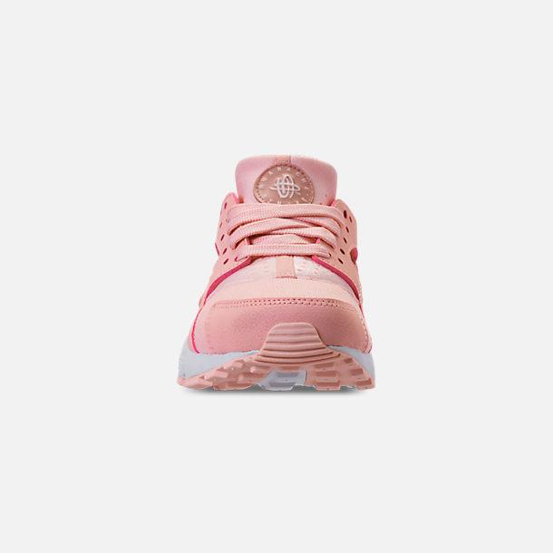 c15208c61a Front view of Girls' Big Kids' Nike Air Huarache Run SE Casual Shoes in