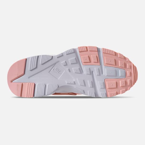 b1601f9b7c72 Bottom view of Girls  Big Kids  Nike Air Huarache Run SE Casual Shoes in