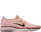 Women's Nike Air Zoom Fearless Flyknit Chrome Blush Running Shoes