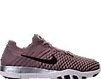 Women's Nike Free TR Flyknit 2 Chrome Blush Training Shoes