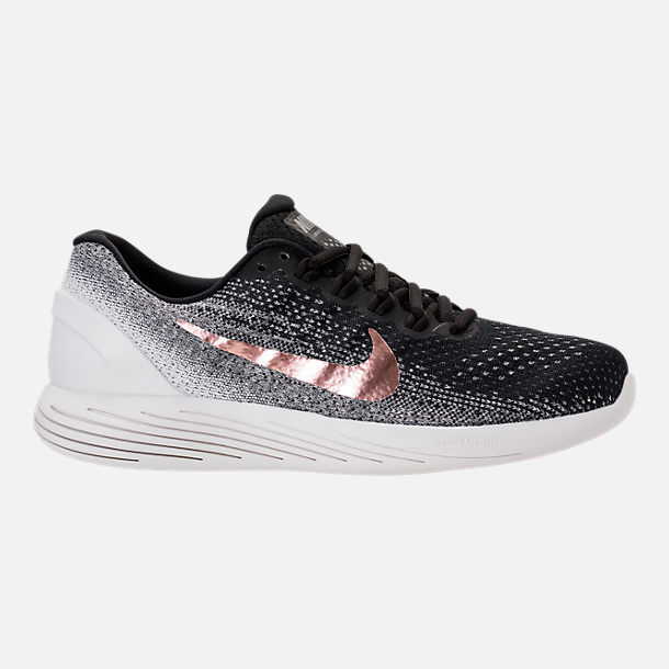 brand new cfa2a 60126 ... White University Red 599160 Nike Lunarglide 5 Running Men Size 8 Right  view of Mens Nike Lunarglide 9 Running Shoes in BlackMetallic Red Bronze ...