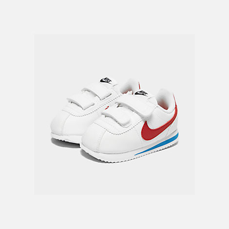 02e8cb174 Three Quarter view of Boys  Toddler Nike Cortez Basic SL Hook-and-Loop