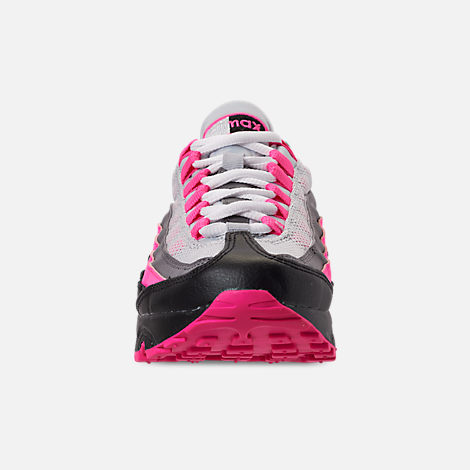 Front view of Girls' Big Kids' Nike Air Max 95 Casual Shoes