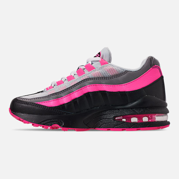 Left view of Girls' Big Kids' Nike Air Max 95 Casual Shoes