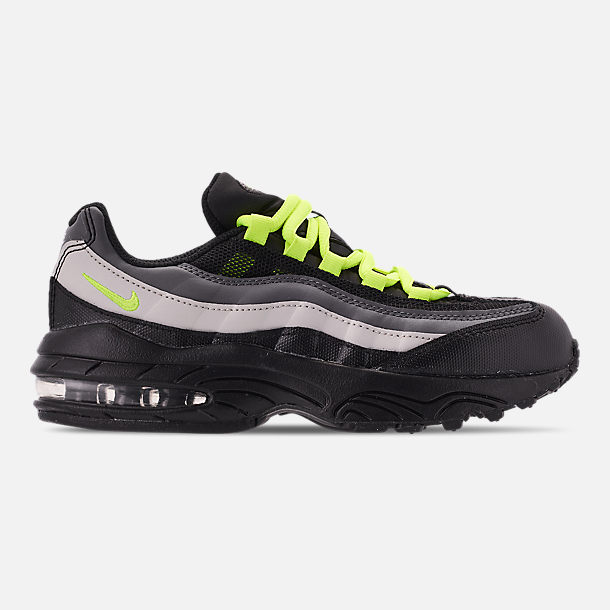 2a065aef21f6 Right view of Boys  Little Kids  Nike Air Max 95 Casual Shoes in Black