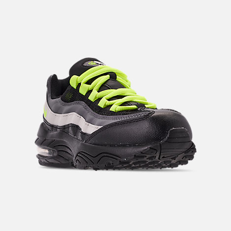 new style 7bc0f 851d4 Three Quarter view of Boys  Little Kids  Nike Air Max 95 Casual Shoes in
