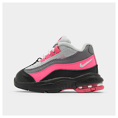los angeles cfab9 85fed Girls' Toddler Little Air Max 95 Casual Shoes, Black - Size 5.0