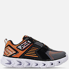 Boys' Preschool Skechers S Lights: Hypno-Flash 2.0 - Rapid Quake Light-Up Hook-and-Loop Running Shoes