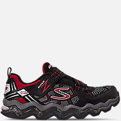 Boys' Little Kids' Skechers S Lights: Turbowave - Tezert Light-Up Running Shoes