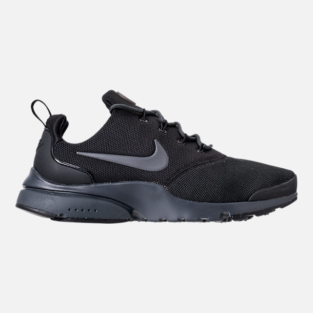 Right view of Men's Nike Presto Fly Casual Shoes in Black/Anthracite
