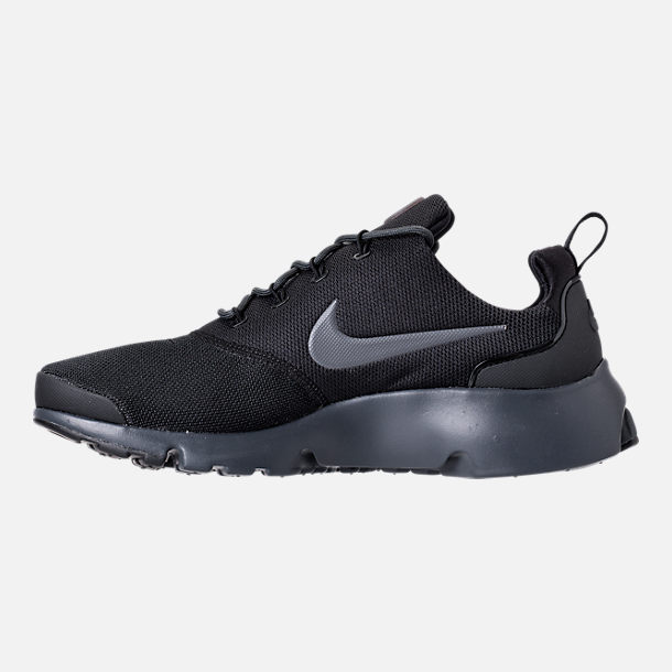 Left view of Men's Nike Presto Fly Casual Shoes in Black/Anthracite