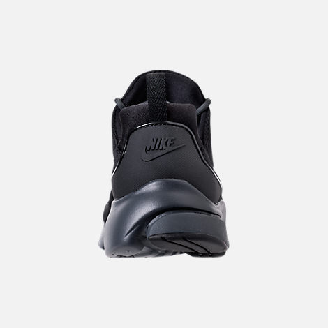 Back view of Men's Nike Presto Fly Casual Shoes in Black/Anthracite