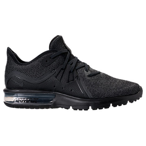 Women'S Air Max Sequent 3 Running Sneakers From Finish Line in BlackAnthracite