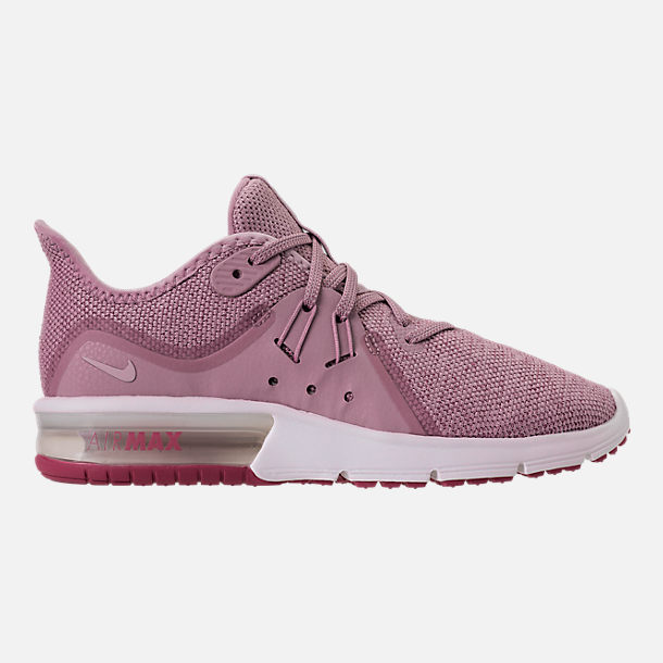 Right view of Women's Nike Air Max Sequent 3 Running Shoes in Elemental Rose/Barely Rose/Vintage