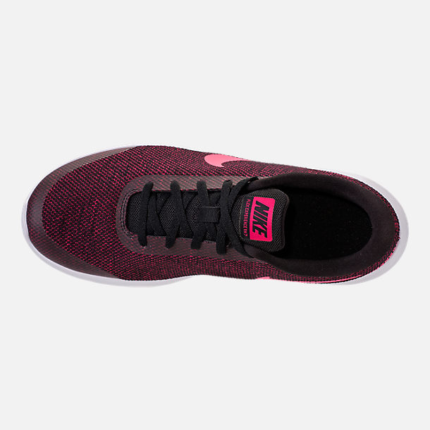 Top view of Women s Nike Flex Experience RN 7 Running Shoes in Black Racer  Pink bdac0f68ea