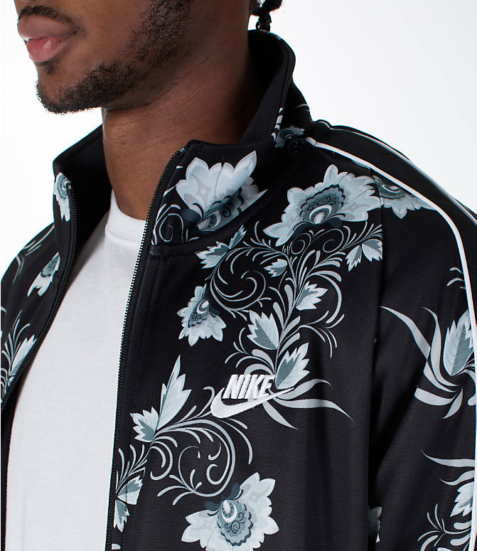 Detail 1 view of Men's Nike Sportswear Floral N98 Track Jacket