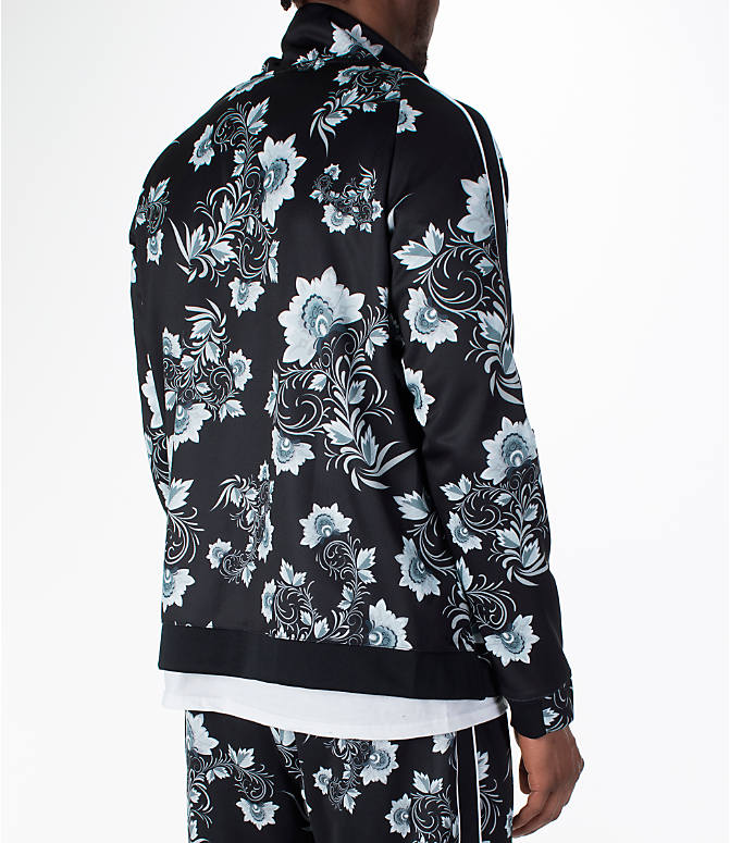 Back Right view of Men's Nike Sportswear Floral N98 Track Jacket