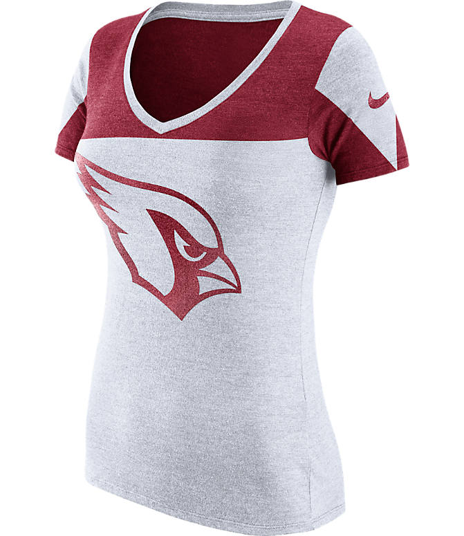 Front view of Women s Nike Arizona Cardinals NFL Championship Drive 2.0  Tri-Blend T- 01b4215445