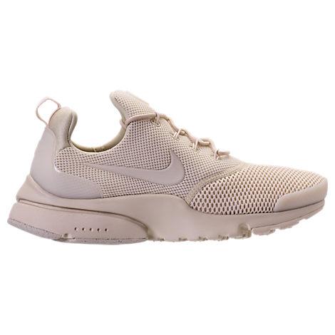 Nike Women S Presto Fly Running Sneakers From Finish Line In  Oatmeal Oatmeal-Oatmeal 5b32df923c