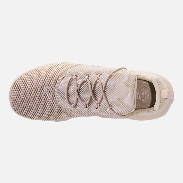 692b67330d28 ... sale top view of womens nike presto fly casual shoes in oatmeal oatmeal  oatmeal e90b1 182e6