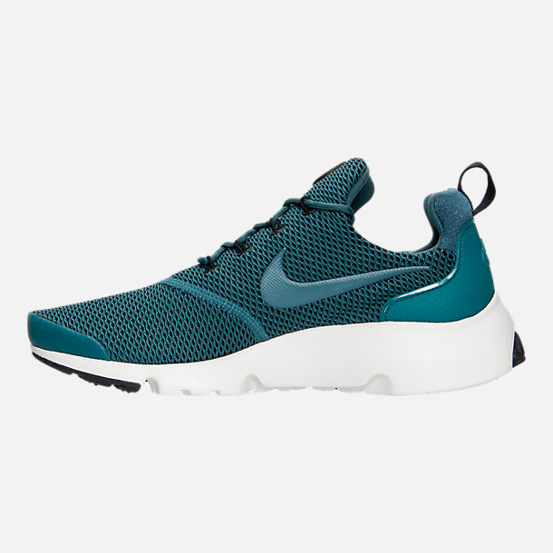 Left view of Women's Nike Presto Ultra SE Casual Shoes in Iced Jade/Summit White/Blue