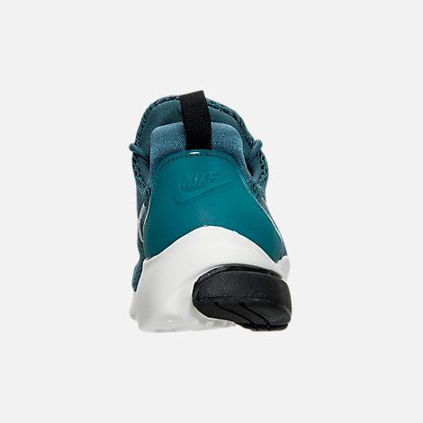 Back view of Women's Nike Presto Ultra SE Casual Shoes in Iced Jade/Summit White/Blue