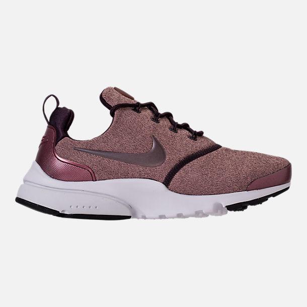New Nike Presto Ultra SE Casual Women Shoes Sneakers Port Wine/Metallic Mahogany