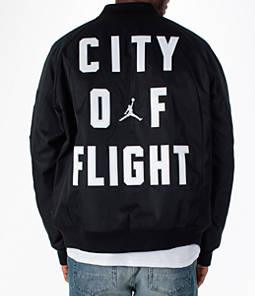 "Men's Air Jordan ""City of Flight"" Bomber Jacket Product Image"