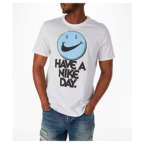 online retailer a757b a2dc1 Nike Men S Have A Day T-Shirt, White