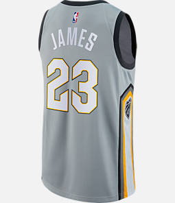 Men's Nike Cleveland Cavaliers NBA LeBron James City Edition Connected Jersey