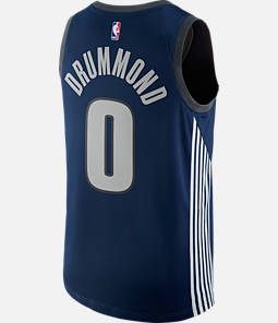 Men's Nike Detroit Pistons NBA Andre Drummond City Edition Connected Jersey