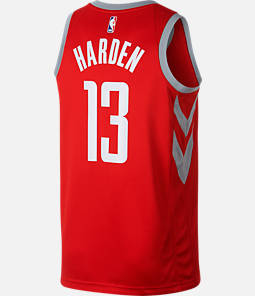 Men's Nike Houston Rockets NBA James Harden City Edition Connected Jersey