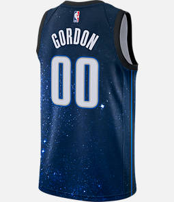 Men's Nike Orlando Magic NBA Aaron Gordon City Edition Connected Jersey