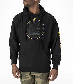 Men's Majestic Golden State Warriors NBA Easy Choice Hoodie