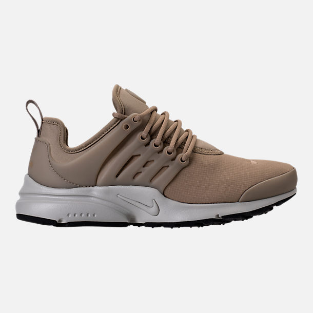 Right view of Women's Nike Air Presto SE Casual Shoes in Khaki/Pale Grey/Black