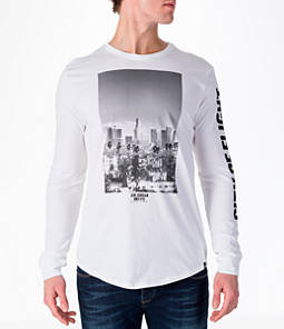 """Men's Air Jordan """"City of Flight"""" Long-Sleeve T-Shirt Product Image"""