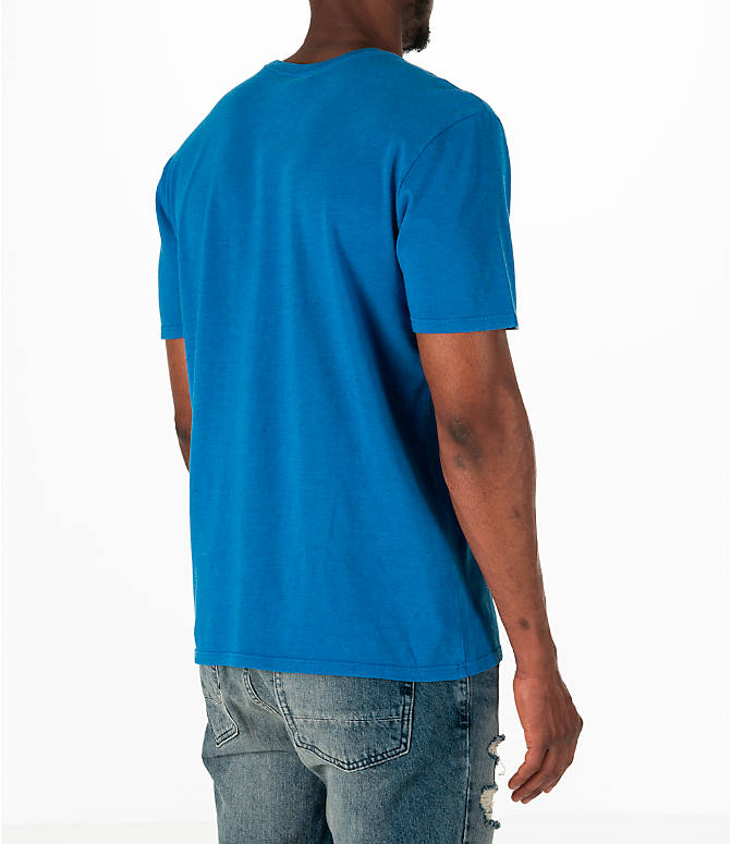 Back Right view of Men's Nike Sportswear Nike Original T-Shirt in Blue