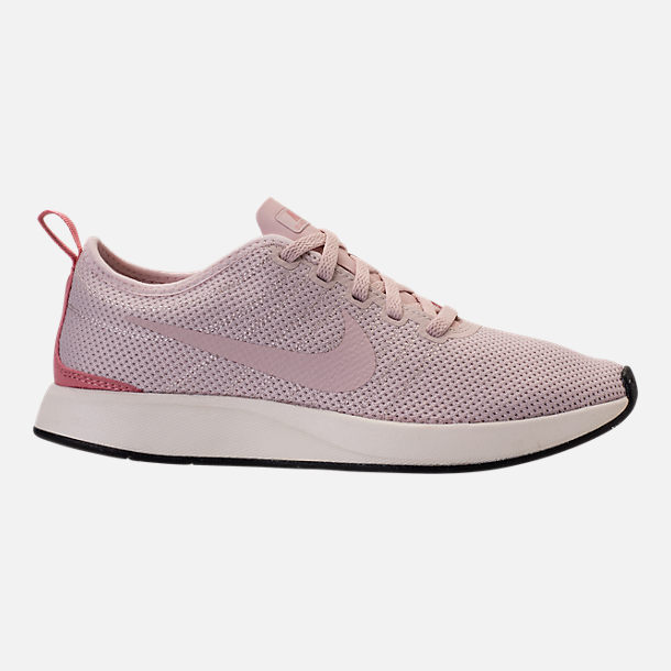 Right view of Women's Nike Dualtone Racer Casual Shoes in Silt Red/Stardust/Sail