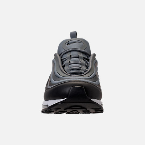 Front view of Women's Nike Air Max 97 Ultra '17 Casual Shoes in Cool Grey/Anthracite/Black/Dark Grey