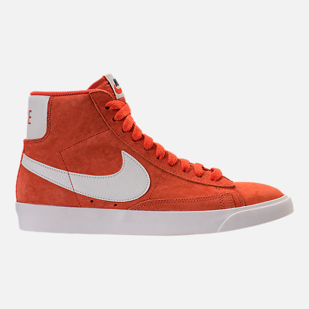 Right view of Women's Nike Blazer Mid Vintage Suede Casual Shoes in Vintage Coral/Sail/Sail