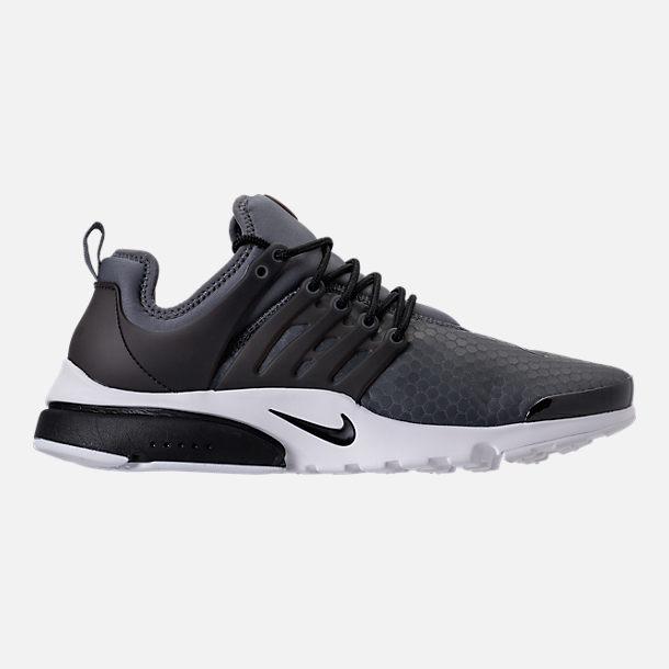 Right view of Men's Nike Air Presto Ultra SE Casual Shoes in Dark Grey/Black/White