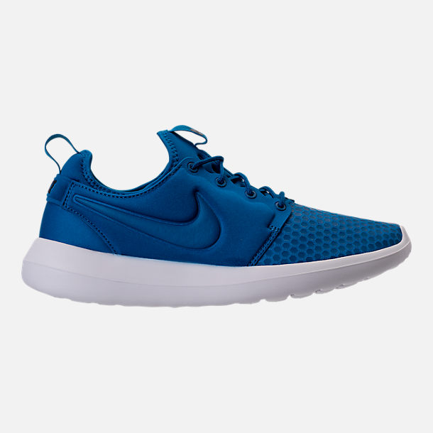 Right view of Men's Nike Roshe Two SE Casual Shoes in Blue Jay/Light Armory Blue