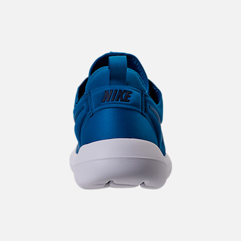Back view of Men's Nike Roshe Two SE Casual Shoes in Blue Jay/Light Armory Blue
