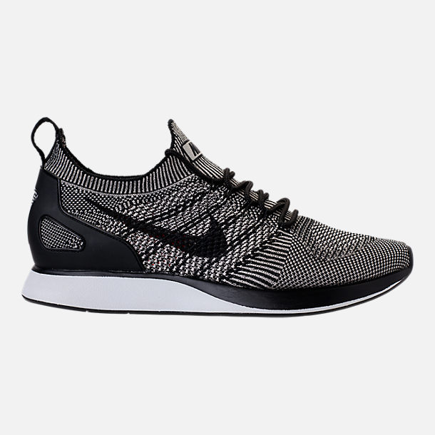 Right view of Men's Nike Air Zoom Mariah Flyknit Racer Running Shoes in  Pale Grey/